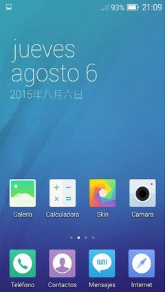 IUNI OS Theme for 360 Launcher