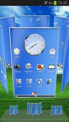 Windows PC Next Launcher Theme