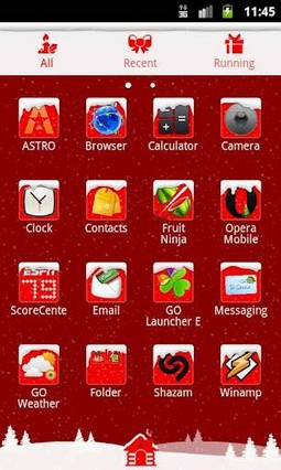 GO Launcher EX Theme Christmas