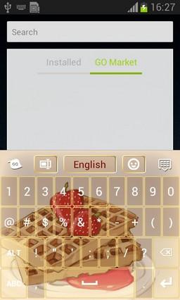Waffles Keyboard-release