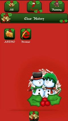 Happy Christmas go launcher ex theme