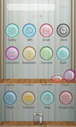 Candy Store GO Launcher Theme 1.2