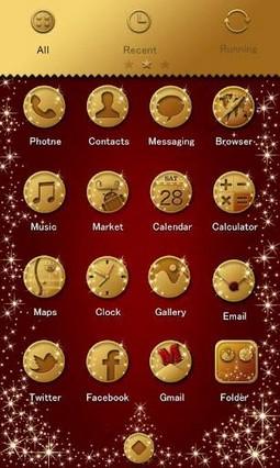 Christmas Theme GO Locker
