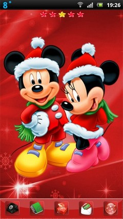 Christmas Mickey and Minnie