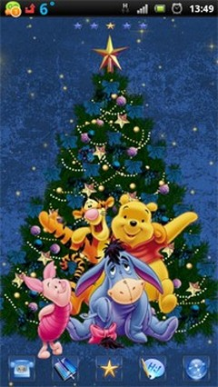 Christmas Winnie and friends