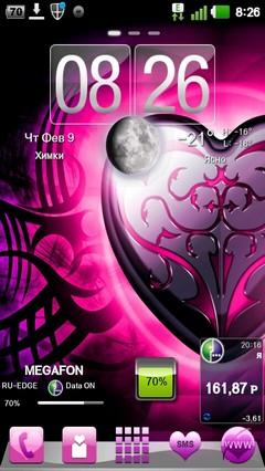 Valentines Hearts Go Theme 1.0