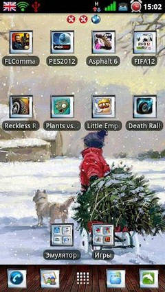 Winter Go Launcher Ex