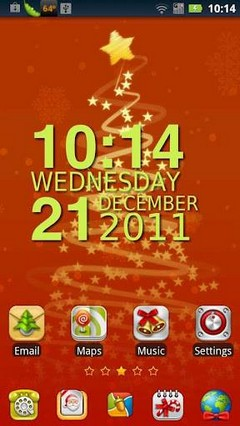 Christmasday GO launcher EX