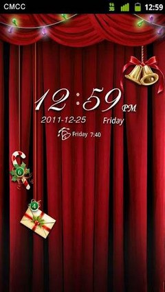 GO Locker Christmas Eve Theme
