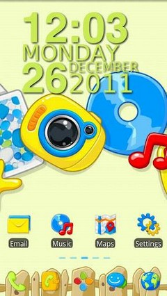 Summer Beach Go Launcher Theme