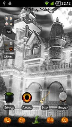 Halloween GO Launcher EX Theme