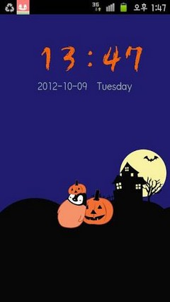 Pepe-halloween Go locker theme