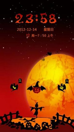 HallowScarecrow GO LockerTheme