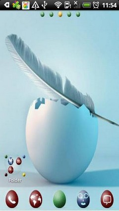 Easter Eggs Theme Go Launcher