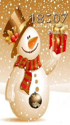 Snowman Locker