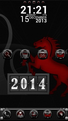 Year 2014 Go Launcher