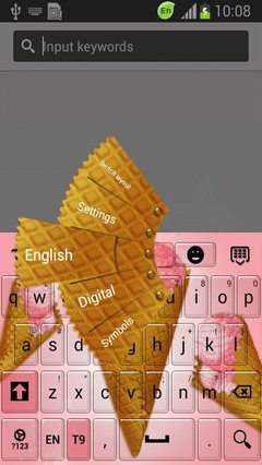 Sweet Cone Keyboard-release