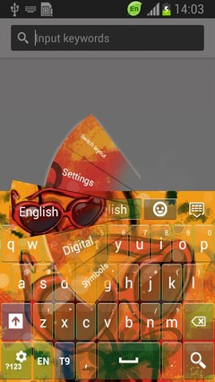 Spring Break Keyboard