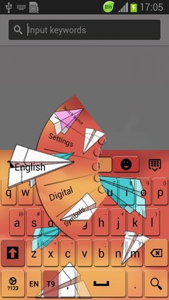 Paper Airplanes Keyboard