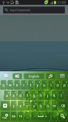 Keyboard St. Patrick