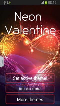 Valentine Keyboard Neon