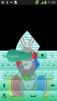 Easter Keyboard Theme