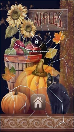 Halloween Decoration Lock Screen