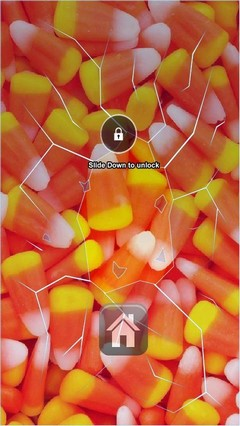 Candy Corn Lock Screen