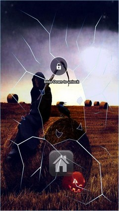 Halloween Grim Reaper Lock Screen