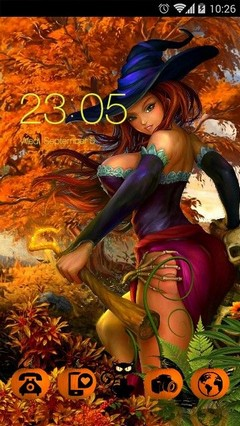 halloween witch by maryla