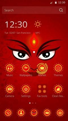 Maa Durga Android Theme