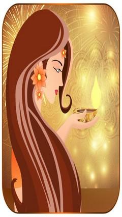 Diwali theme launcher theme