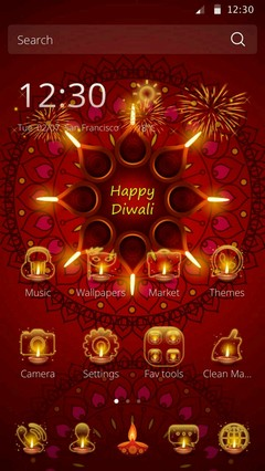 Happy Diwali Theme