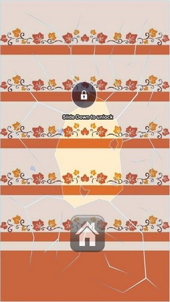 October Leafs Lock Screen