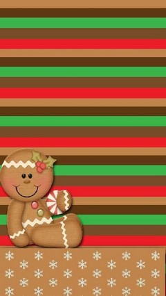 Gingerbread Girl Lock Screenfinal