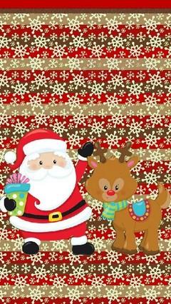 Happy Santa Lock Screenfinal
