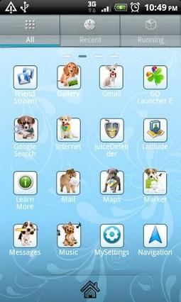 Puppy Go Launcher EX Theme
