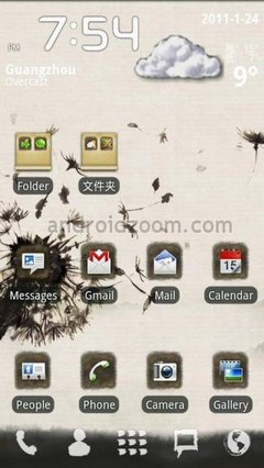 Ink Theme GO Launcher
