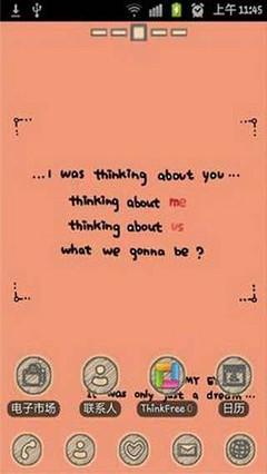 Thinking golauncher