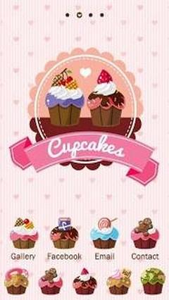 Cuppycakes++GO+Launcher+Theme
