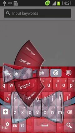 Bow Tie Keyboard