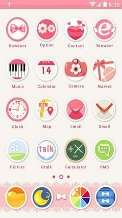 360 Mobile Themes Bowknot