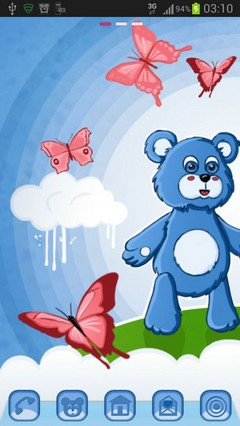 GO Launcher Theme Teddy Bears-1