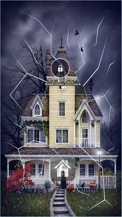 Not So Haunted House Lock Screen