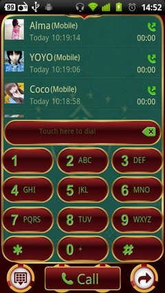 Casino GO Contacts Theme 3.0.0