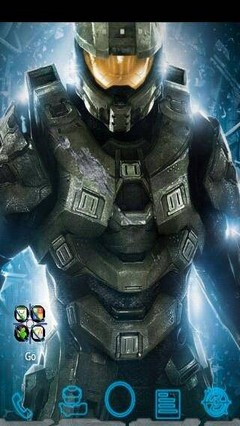 Halo GO Launcher Ex Theme