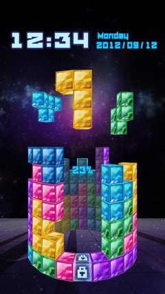 3D RainbowSquare Locker Theme v1.00