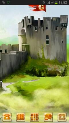 GO Launcher EX Theme Castle