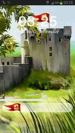 GO Locker Theme Castle