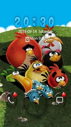Angry Birds Go Locker